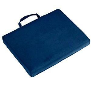 Five Plain Navy Bleacher Cushions New